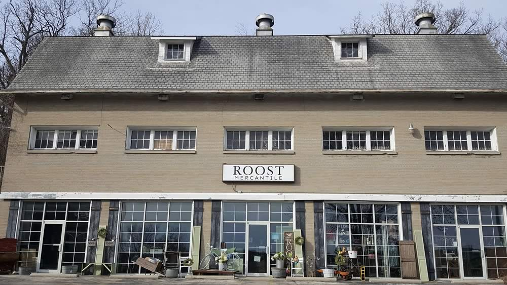 Roost Mercantile Storefront in Pewaukee, WI